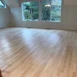 """3"""" maple flooring refinished"""