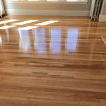 unfinished birch flooring with oild based finish