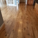 white oak floors finished with 4 coats of water based finish