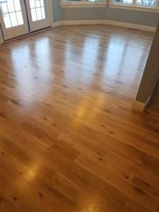 white oak finished floors in Westborough MA