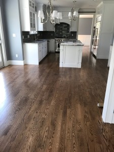 early american stain on red oak
