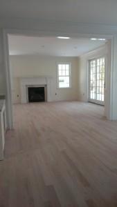 before hardwood floors were refinished