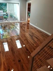 "3"" american walnut flooring with oil based finish"