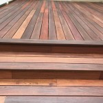 mahogany deck with arbor coat finish