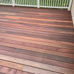 mahogany wood used on outside deck