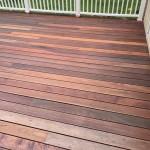 mahogany wood used on outside deck