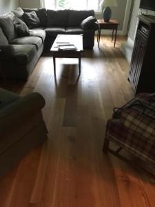 """7"""" rift and quartered white oak floor"""
