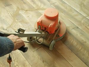 hardwood floor refinisher