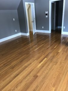 2inch white oak with colonial maple stain