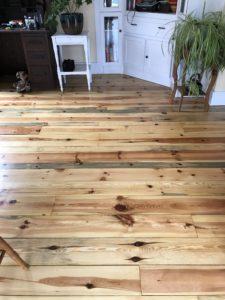 Pine flooring finished with oil based polyurethane (2)