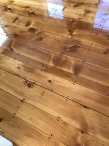 Reclaimed pine with oil based polyurethane (4)