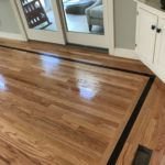 Red oak flooring installed with oil based polyurethane (2)