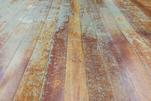 damaged hardwood floors
